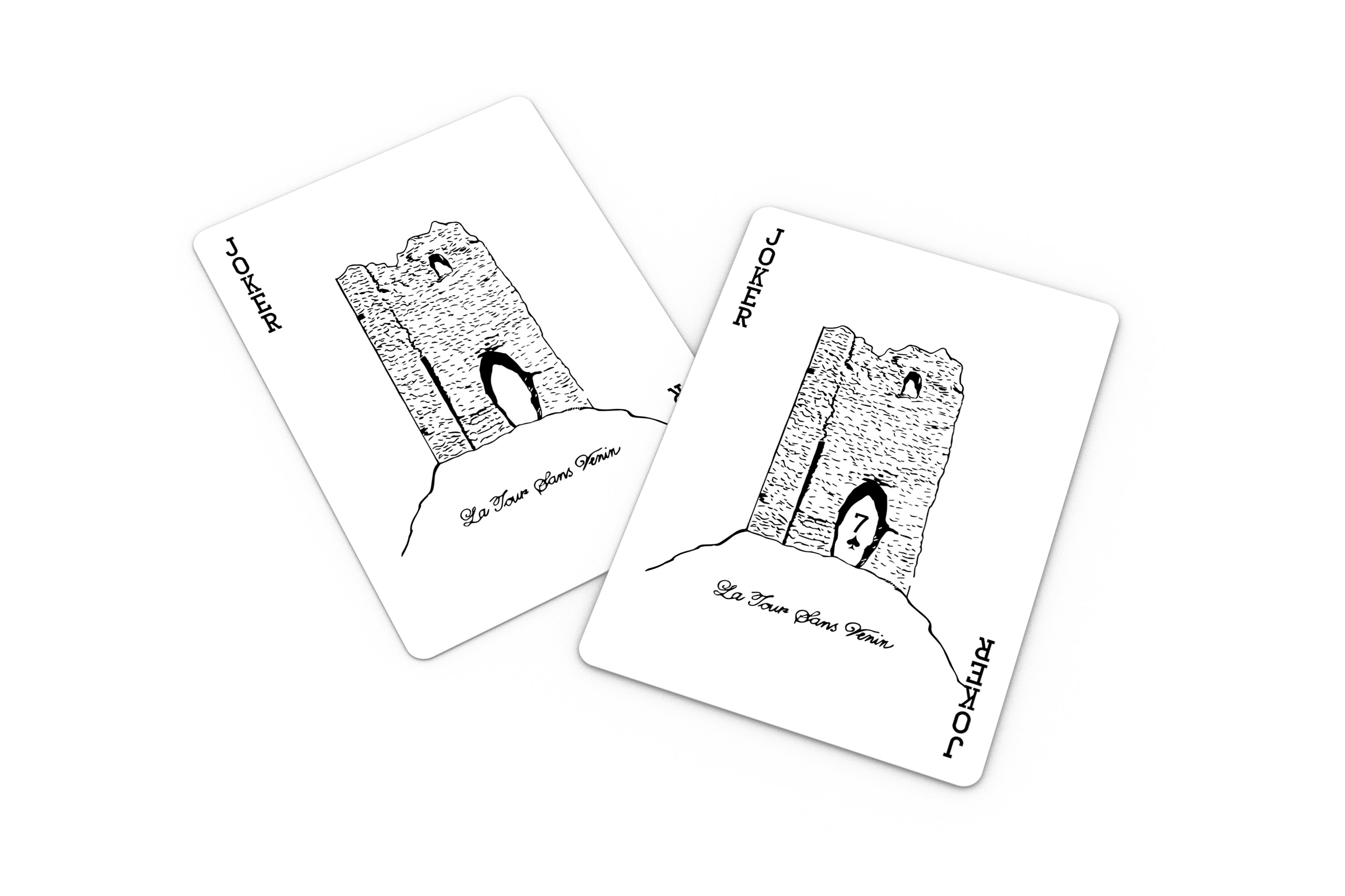 Bastille Chartreuse Card Club Joker