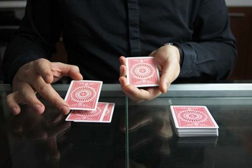Lucky Poker Card